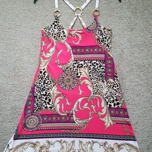 Boston Proper O-Ring Dress Size XS